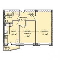 2 комнатная квартира (видео) - 3