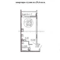 1 комнатная квартира-студия в г.Анапа (видео) - 4