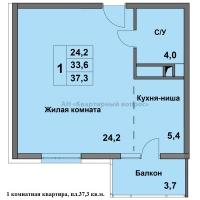 """ЖК """"Времена года"""" (2 этап строительства) - 7"""