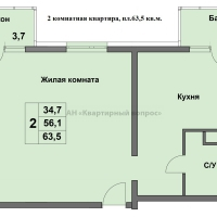 """ЖК """"Времена года"""" (2 этап строительства) - 11"""