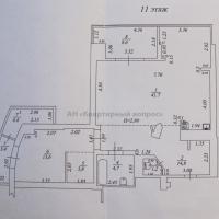 2 комнатная квартира - 34