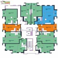 1 комнатная квартира-студия - 6