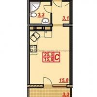 1 комнатная квартира в г.Анапа (видео) - 2