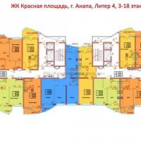 """ЖК """"Красная площадь"""" Литер 4 - 8"""