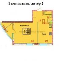 """ЖК """"Красная площадь"""" Литер 4 - 15"""