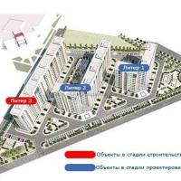 """ЖК """"Красная площадь"""" Литер 1,2,3 - 3"""