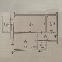 1 комнатная квартира в с.Сукко - 19